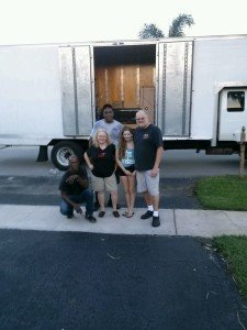 Happy Clients after a Fort Lauderdale residential move