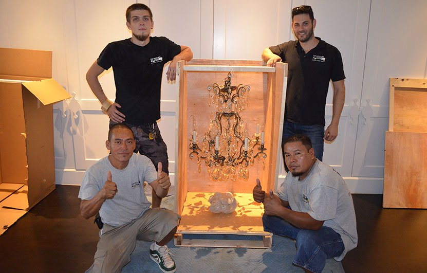 Fort Lauderdale art & antique movers