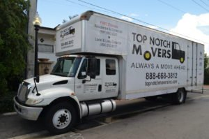 Delray Beach moving truck