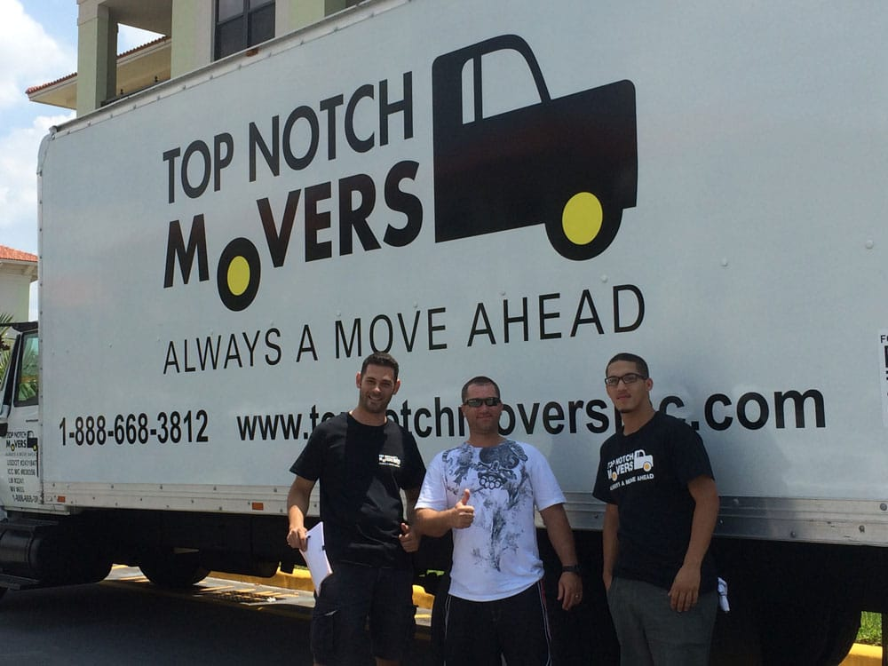 Hollywood Long Distance Movers Are you looking for the best Hollywood Long Distance Movers on the market? Because you've found them with Top Notch. Top Notch Movers have been helping in South Florida for the last decade and they have all the qualities of a great moving company. Helpful - We are there for you to help you move every step of the way! Experienced – We have more experience per mover than any other company! Experts – We have an established method that makes us experts in the field!