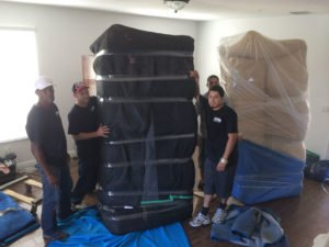 Top Notch moving team preparing for a move to Hollywood Florida