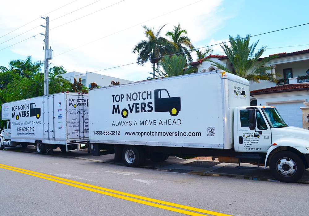 Top Notch Movers Truck Moving In Miami FL