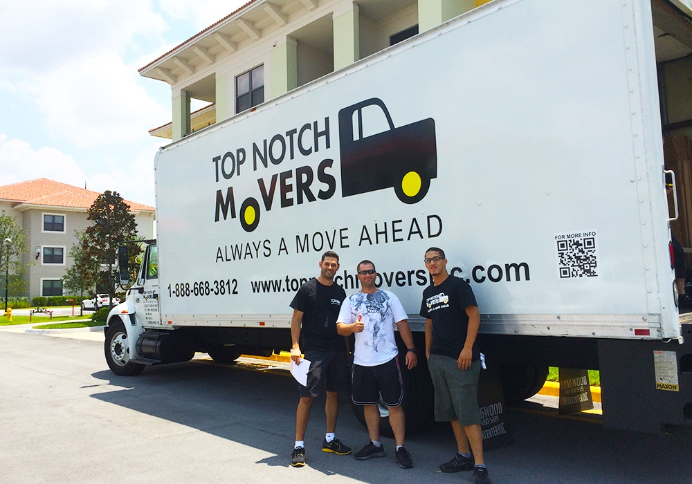 Delray Beach Movers- Top Notch Moving company