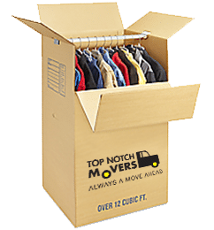 Top Notch Movers box in Orlando