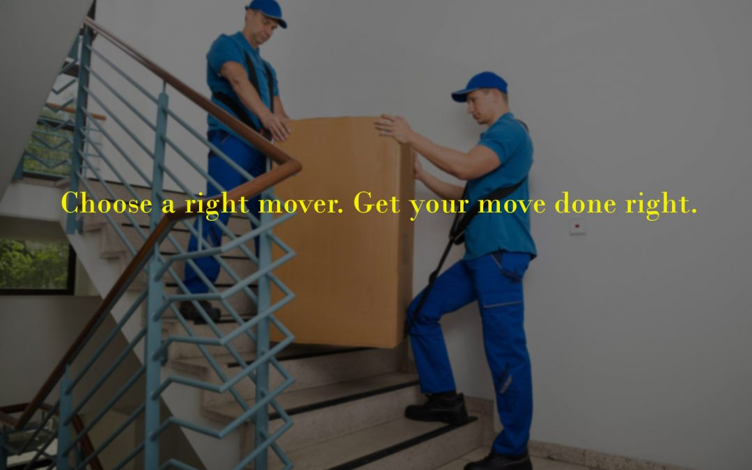 five tips on choosing right moving company