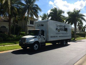 Top Notch moving truck in Jacksonville FL