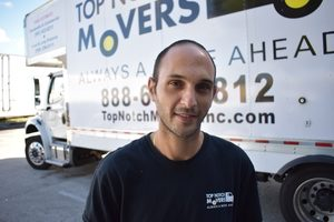 Top-rated local moving company Tom