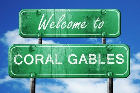 moving to Coral Gables welcome sign