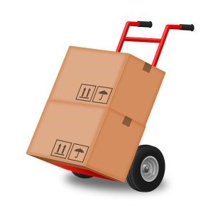 moving company hand truck, hiring a moving company vs moving yourself
