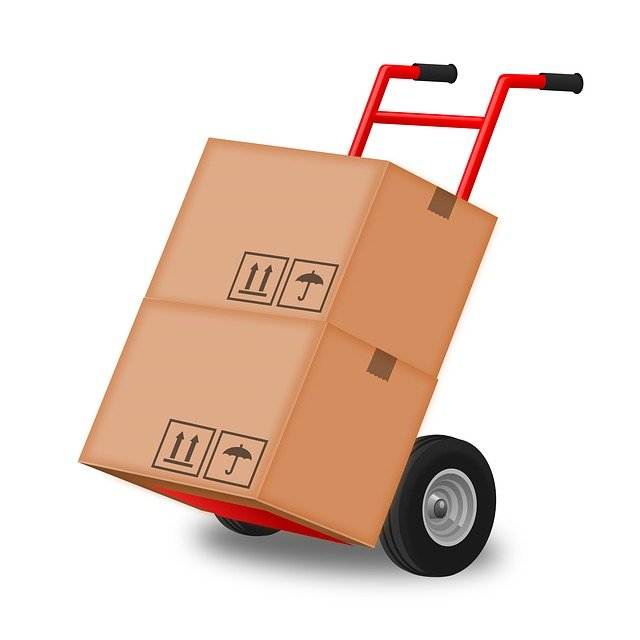 moving company hand truck