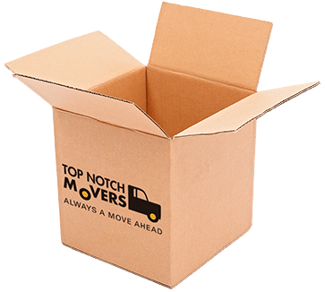 Large box for packing and moving