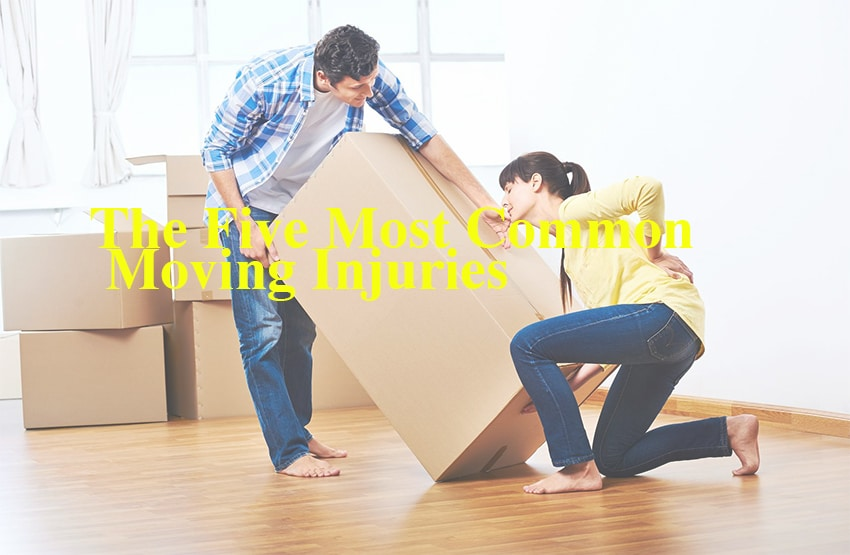 The Five Most Common Moving Injuries