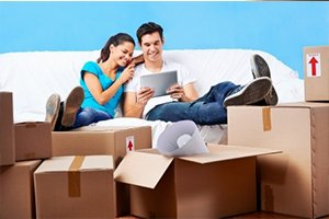 Separate your belongings during a long distance move