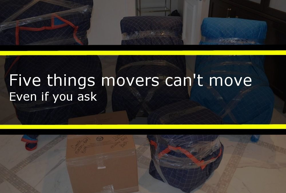 Five things movers can't move