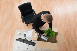 man preparing for corporate relocation