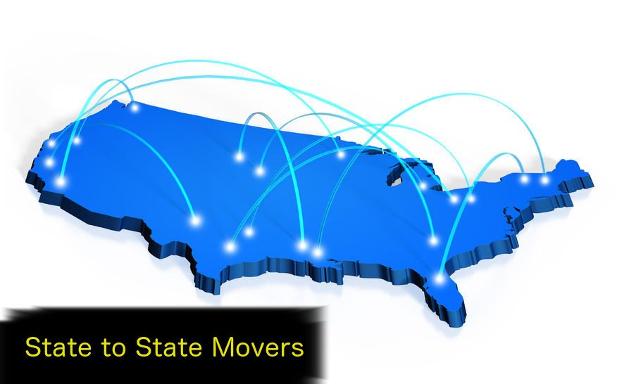 From one state to another, state to state movers