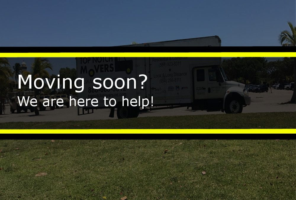 Moving soon? Be prepared