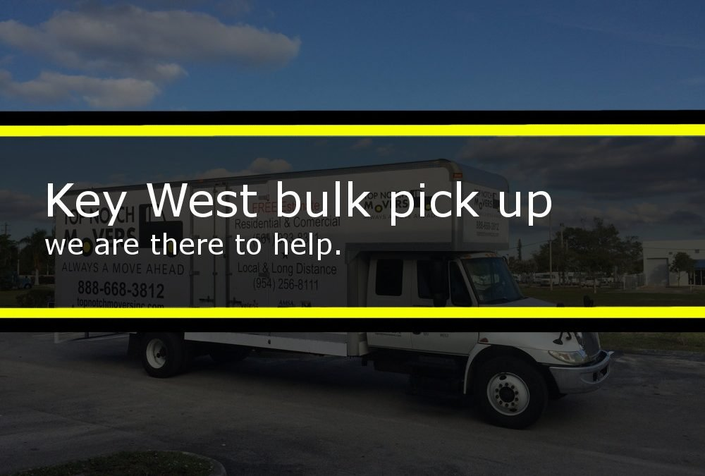 Key West bulk pick up image