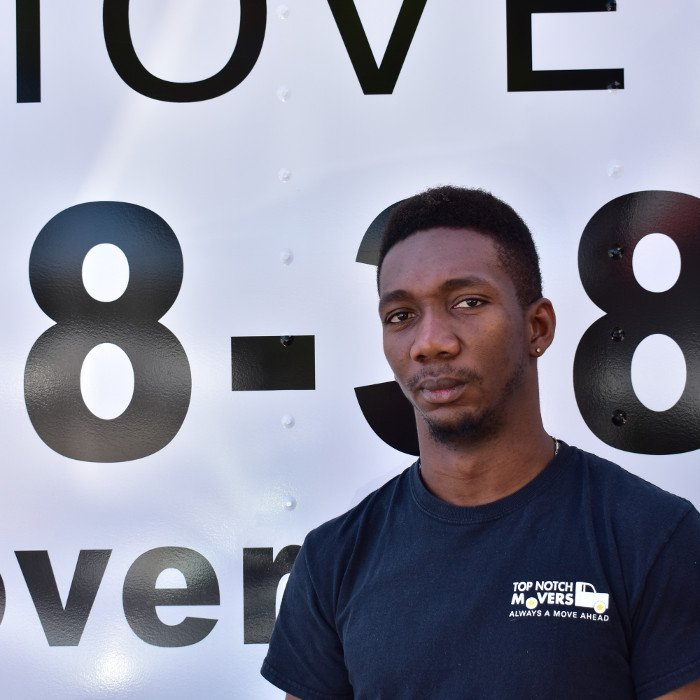 Miami Dade movers - our crew member Aundre