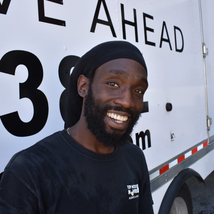 Palm Beach movers - our crew, Oliver