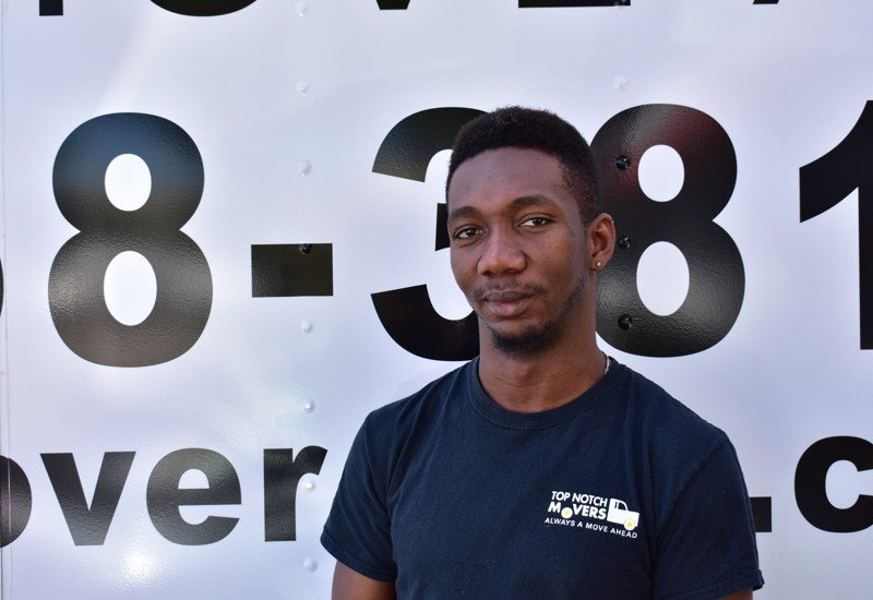 Andre, one of our best movers. See us in action, and more of his pictures today