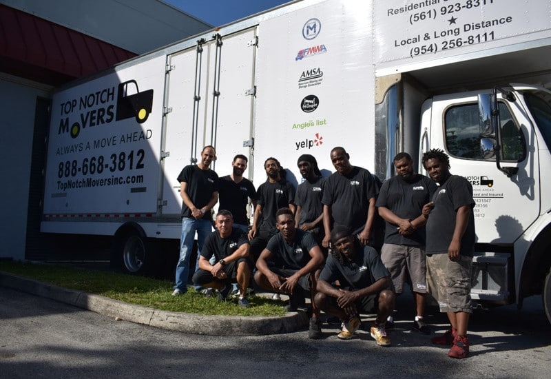 Our Top Notch team, helpers, foreman's and professional movers