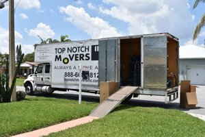 Truck 28 ft, Top Notch Movers