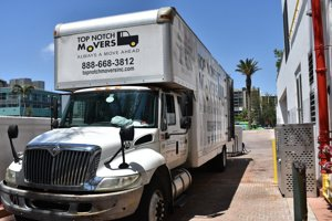 Our 28 FT truck, Top Notch Movers - local movers