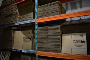 Packing, storage and warehouse options