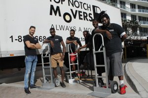 Our team, Top Notch Movers, local movers