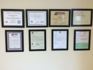 Licenses for local movers