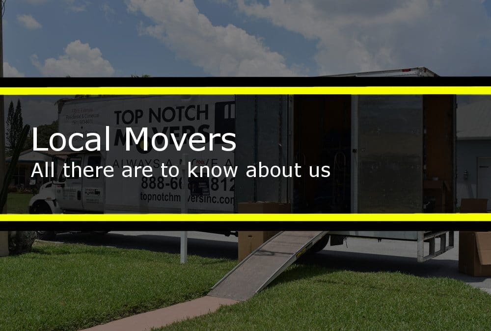 Local movers | Top Notch Movers Inc.