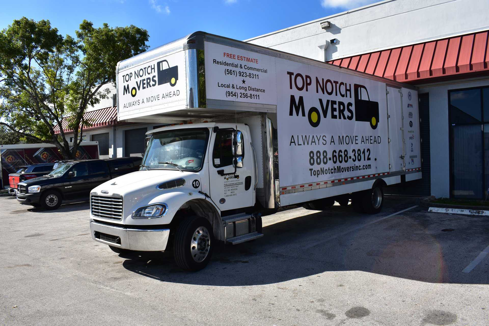 Fort Lauderdale Movers Licensed And Insured Top Notch
